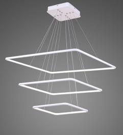 Potrójna lampa wisząca Ledowe Kwadraty 3 In 3k