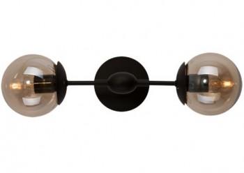 Podwójny kinkiet ścienny Astrifero Modern Glass Wall