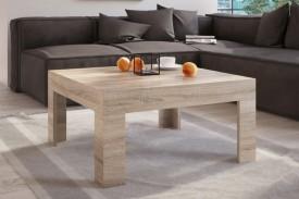 Drewnopodobny stolik kawowy Simple 80x80 dąb sonoma