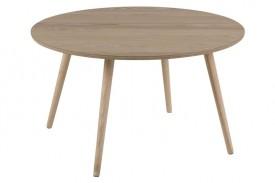 Okrągły stolik kawowy na czterech nogach Stafford Wood