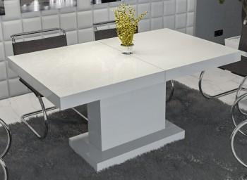 Rozkładany stół do jadalni w wysokim połysku Major