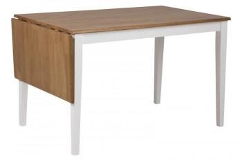 Drewniany stół z rozkładanym blatem Brisbane Wood