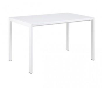 Biały stół w wysokim połysku z funkcją rozkładania Bristol