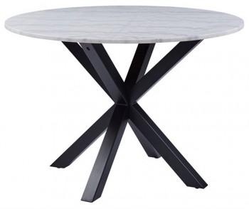Designerski stół do jadalni z blatem imitującym marmur Heaven