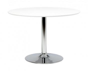 Nowoczesny stół jadalniano-kawiarniany na chromowanej nodze Ibiza