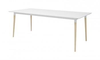 Nierozkładany stół jadalniany w stylu skandynawskim Olivia