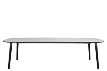 Rozkładany stół jadalniany z owalnym blatem Pippolo L