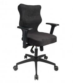 Ergonomiczne krzesło do pracy biurowej Perto Black