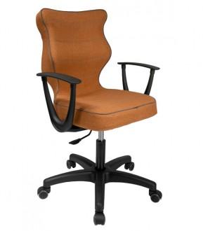Krzesło obrotowe do biura o ergonomicznym kształcie Norm