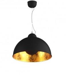 Pojedyncza lampa wisząca z regulacją Antenne czarny / złoty