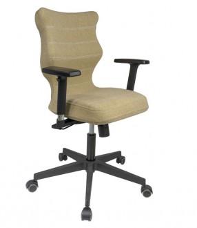 Biurowe krzesło o ergonomicznym oparciu Nero Black