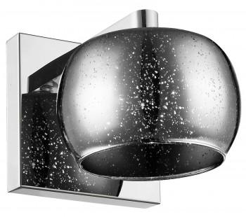 Szklany kinkiet ścienny w stylu glamour Vista