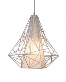 Designerska lampa wisząca z metalu Skeleton