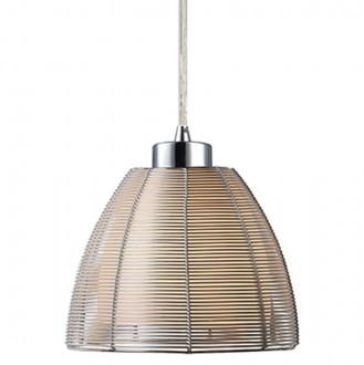 Pojedyncza lampa wisząca z metalowym kloszem Pico 19