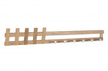 Drewniany wieszak ścienny Cavan