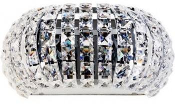 Designerski kinkiet ścienny ze szklanymi kryształami Antarctica