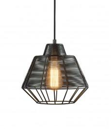 Druciana lampa w stylu industrialnym Wire 25