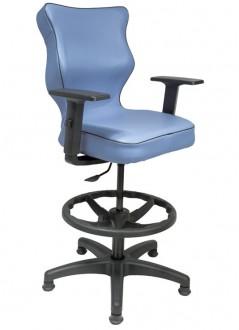 Ergonomiczne krzesło specjalistyczne Pro Uni z podnóżkiem