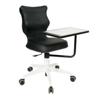 Obrotowe krzesło biurowe z pulpitem Sinum