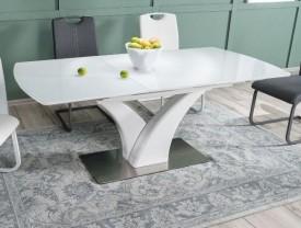 Rozkładany stół z podstawą w kształcie litery V Faro