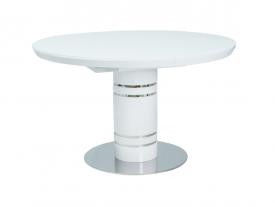 Okrągły stół rozkładany w wysokim połysku Stratos