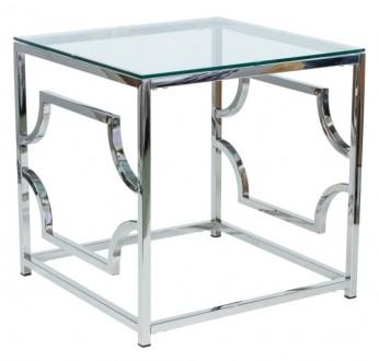Kwadratowy stolik kawowy w stylu glamour Versace B