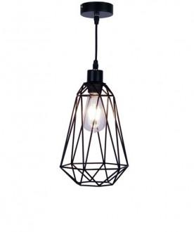Druciana lampa wisząca z regulacją wysokości Torch