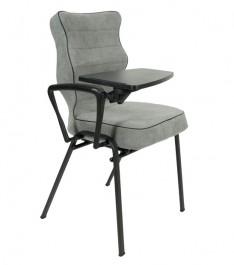 Ergonomiczne krzesło konferencyjne z pulpitem Uni Plus
