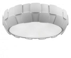 Biały plafon sufitowy z poliwęglanu Sole 54