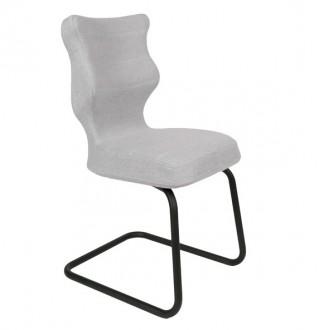 Krzesło konferencyjne o ergonomicznym kształcie Nero Black