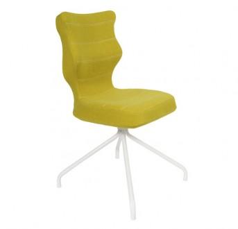 Ergonomiczne krzesło konferencyjne Slim White