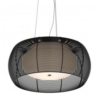 Nowoczesna lampa wisząca z drucianym kloszem Tango 40