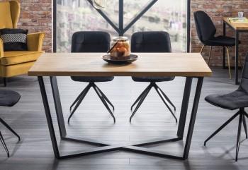 Industrialny stół nierozkładany Marcello 180x90 cm