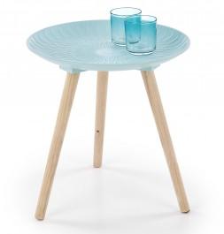 Okrągły stolik w stylu skandynawskim Bingo