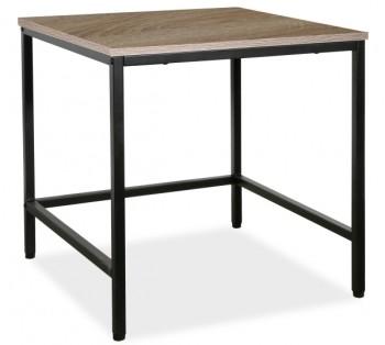 Stolik pomocniczy z kwadratowym blatem Meris L2 w stylu loft