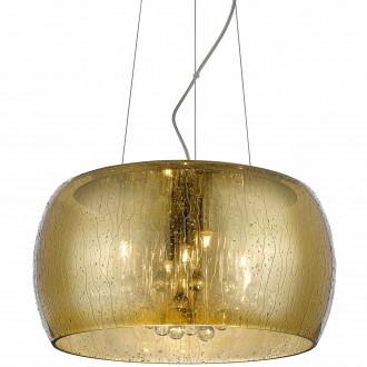 Designerska lampa wisząca ze szkła Rain 40 złota