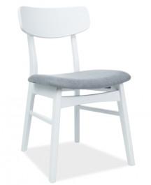 Białe krzesło w stylu skandynawskim CD-62