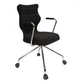 Biurowe krzesło Slim Chrom o ergonomicznym kształcie