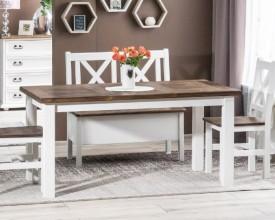 Drewniany stół nierozkładany Poprad