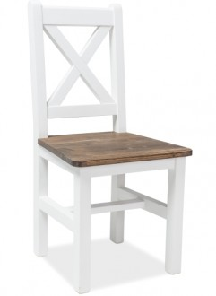 Drewniane krzesło jadalniane bez podłokietników Poprad
