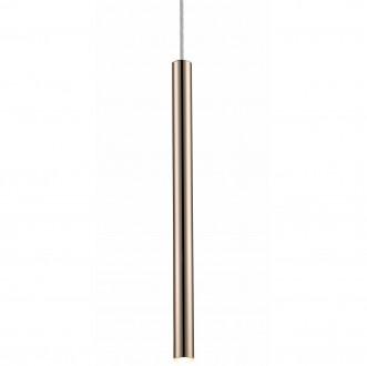 Podłużna lampa wisząca Loya 1 French Gold