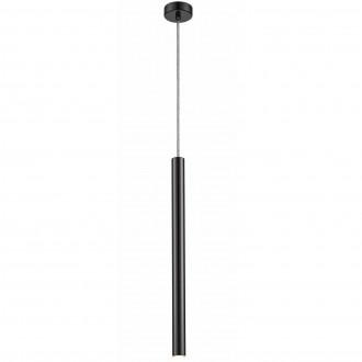 Podłużna lampa wisząca Loya 1 Pearl Black