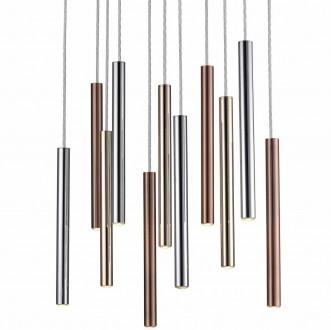 Designerska lampa wisząca z metalu Loya 11