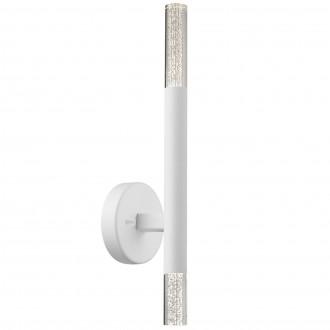 Biały kinkiet ścienny z oświetleniem LED One