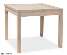 Kwadratowy stół z funkcją rozkładania Kacper 90x90 cm