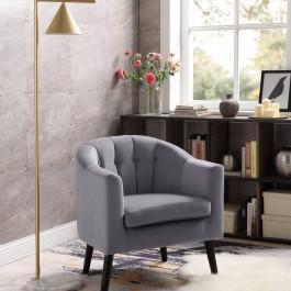 Fotel wypoczynkowy z miękkim siedziskiem Marshal