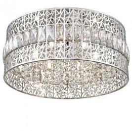 Ażurowy plafon sufitowy z ozdobnymi kryształkami Pectra