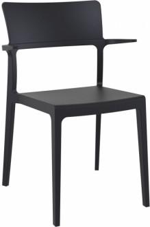 Krzesło kawiarniane z polipropylenu Plus