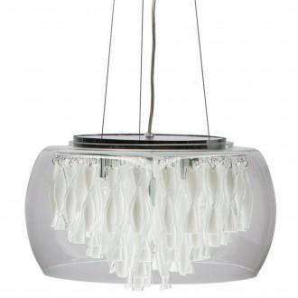 Lampa wisząca z transparentnym kloszem Biagio