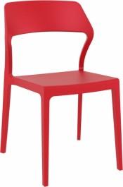 Sztaplowane krzesło bez podłokietników Snow